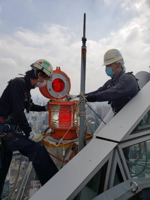 航空障害灯設備工事のプロを目指しませんか?
