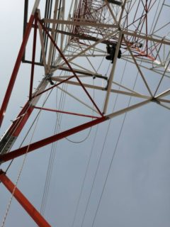 航空障害灯 太陽光発電設備